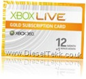 Xbox360Live 12MonthGold