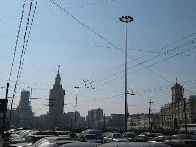 Комсомольская площадь.Фото Вершинин А.В.