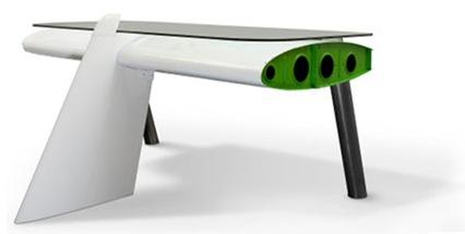 airplane-desk