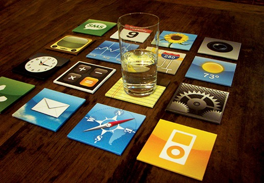 iPhone-Coasters-Set