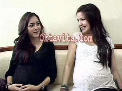Rischa Novisha dan Sheila Marcia
