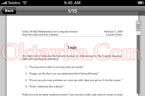 PDF Reader for iPhone