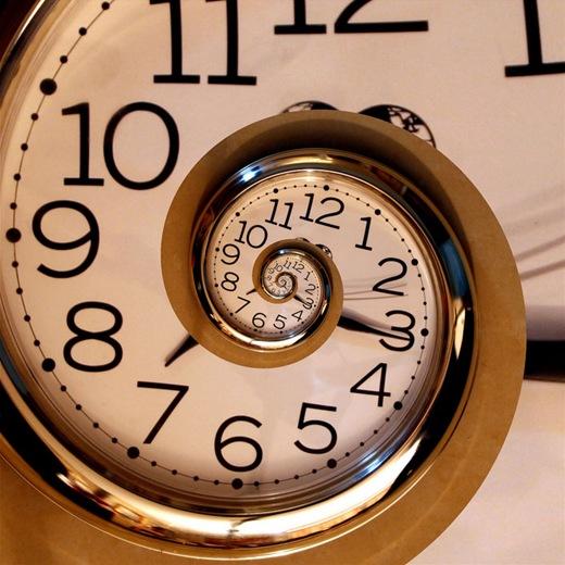 Relógio infinito