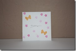 Mum Thank you Card Envelope