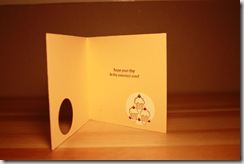 Stampers 6 - Flowers & Cupcakes Card Inside