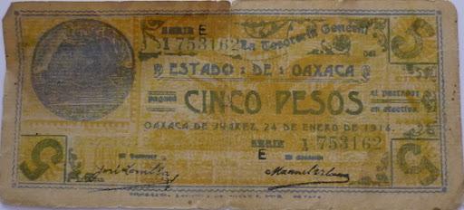 Billetes Antiguos de Oaxaca B_P1000934