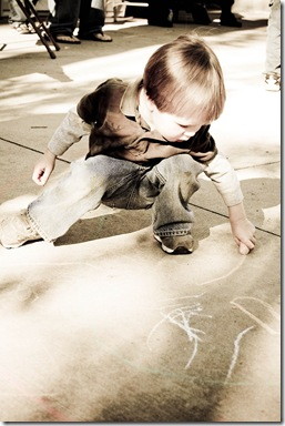 left hand chalk