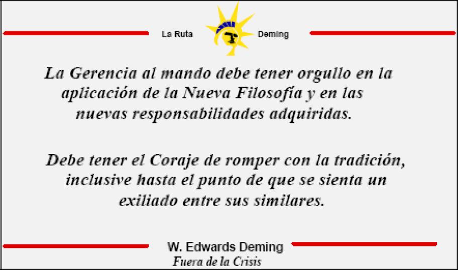 Frases de Edwards Deming sobre la calidad