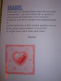 lettera scritta per me da una alunna di mia mamma