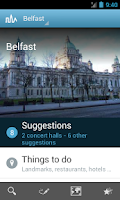 Screenshot of Belfast Travel Guide