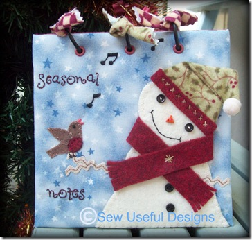 Seasonal Notes cover with copyright