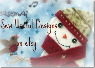 Winter etsy shop button