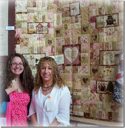 Libby and Remember When quilt