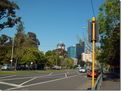 Carlton towards City