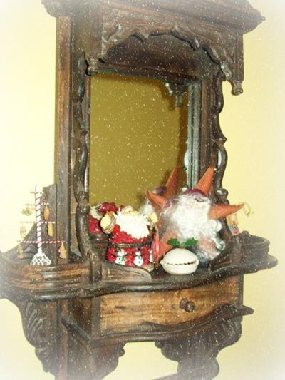 Xmas 10 hallway mirror