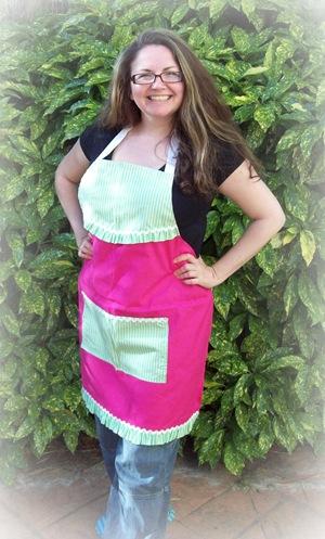 Vicki apron picnicked