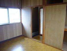 2階洋室ペイント