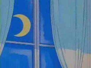 luna atravez de la ventana