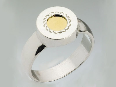 The 5 Metals Ring - Smooth