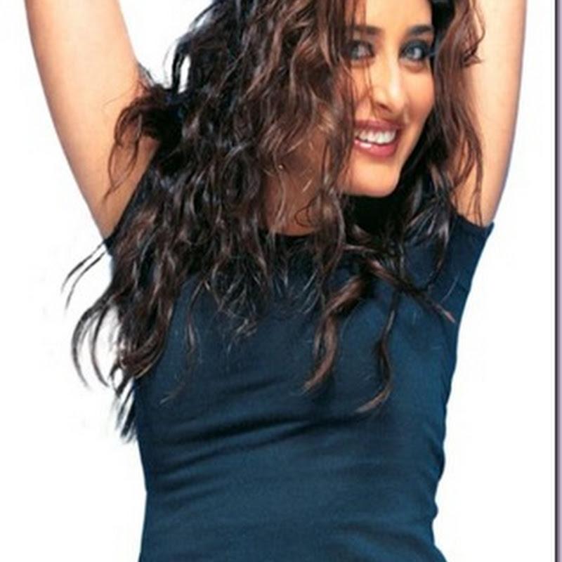 Kareena Kapoor on the top