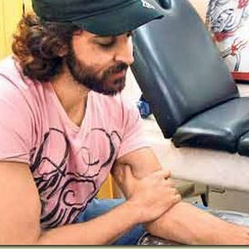 Hrithik Roshan latest addition to his right wrist