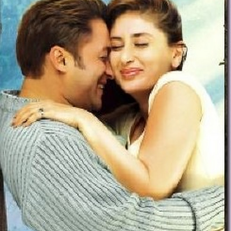 Salman and Kareena doing extreme romantic scenes