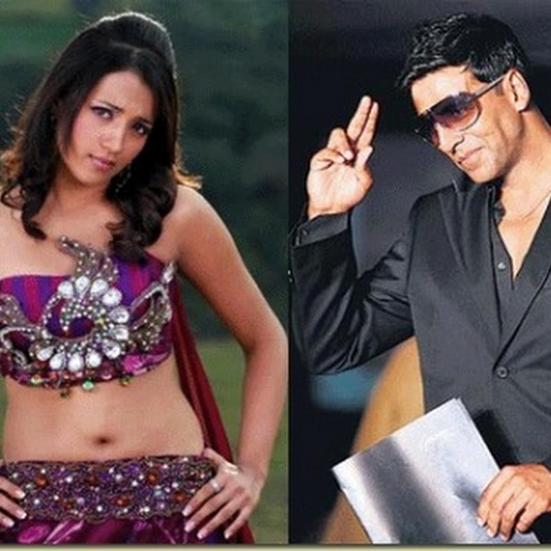 Trisha delights Akshay Kumar