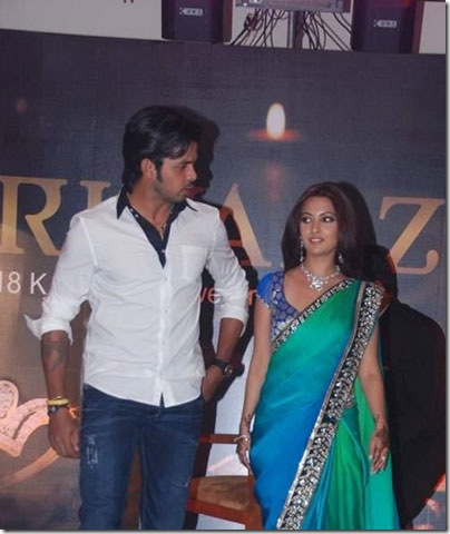 Sreesanth and Riya Sen at Gitanjali's Rivaaz collection stills2
