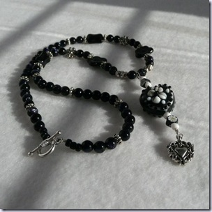 dreamwhimsy black necklace