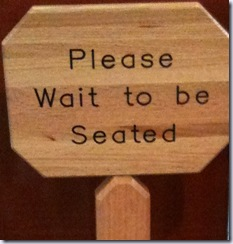 please wait to be seated lincoln square