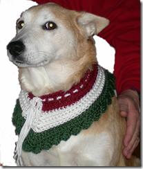 daisy christmas neckwear
