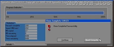 MaYaSTA BLOG - Cloning antar Hard disk