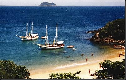 Praia de João Fernandinho, em Búzios