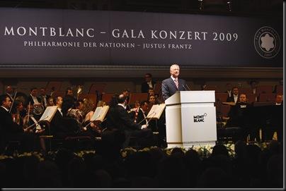 LUTZ BETHGE CEO MONTBLANC INTERNATIONAL BEIM PRIX MONTBLANC GALAKONZERT IM KONZERTHAUS IN BERLIN AM 271009©FRANZISKA KRUG / MONTBLANC