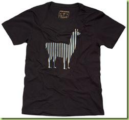 Zapalla - Camiseta Lhama Preta