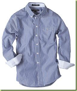 Camisa listras man Gant2