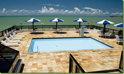 Piscina do Bristol Marinas Praia Hotel - João Pessoa-PB