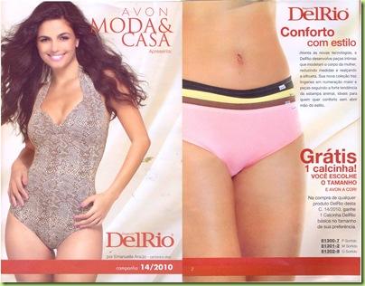 Revista AVON - Campanha 14-2010 - Capa e 2º capa