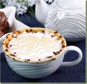 chocolate quente com doce de leite e ovomaltine