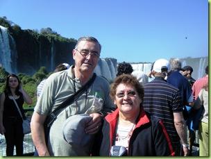 Ester e Jesus Montes - Foto Cataratas do Iguacu S.A