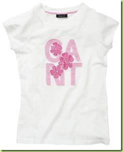 Camiseta Infantil Girls Gant