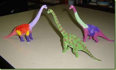 Pintando Dinossauros