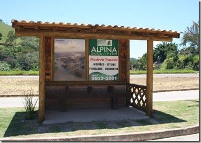 Ponto de onibus - Alpina web