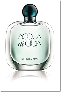 Aqua di Gioia official packshot