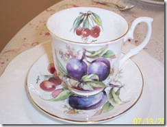 plums teacup
