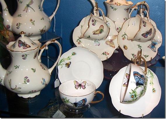butterfly teacups