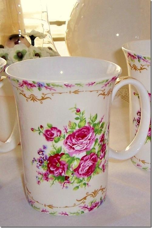 floral mugcloseup