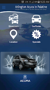 Arlington Acura in Palatine - screenshot