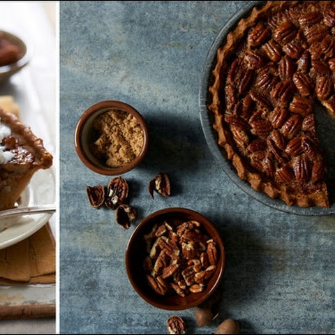 Pecan Bourban Pie A La Mode