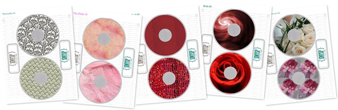 View Custom CD and DVD Labels